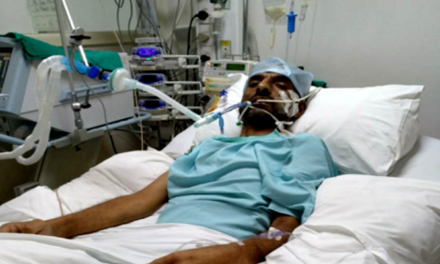 Kashmiri father of three kids admitted in Gurgaon hospital needs financial help