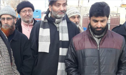 Yasin Malik released from central jail Srinagar