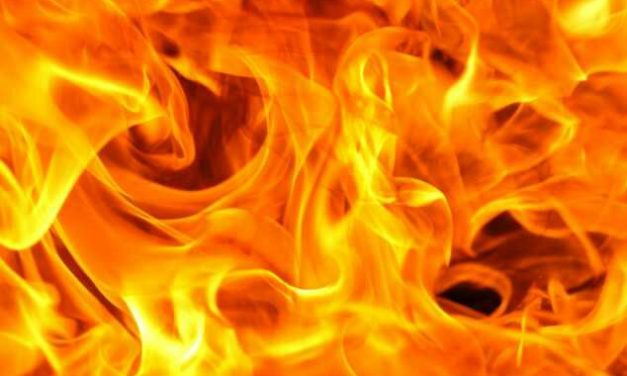 Panchayat Ghar gutted in fire in Shopian