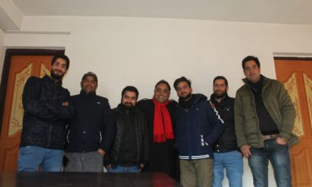 JKJU Anantnag unit held its members meet