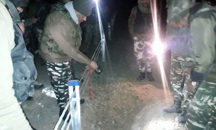 Bomb Squad team defused IED South Kashmir