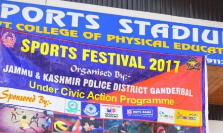 Ganderbal sports festival concludes
