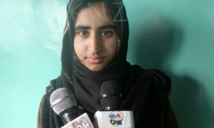 Girl from poor economic background in Wakura Ganderbal scores 494 marks in 10th class exams.