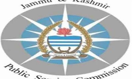 J&K PSC: Filling up of posts Assistant Commissioner Food Safety Officer