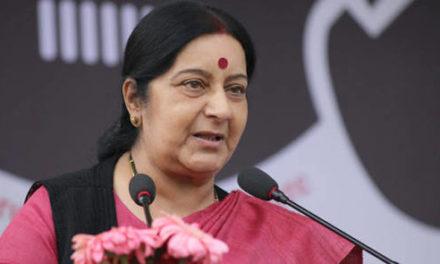 Cricket series unlikely till Pak stops terrorism: Swaraj to parliamentary panel