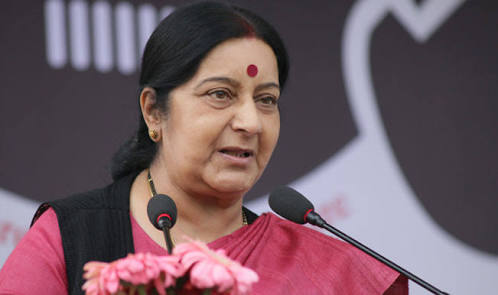 Cricket series unlikely till Pak stops terrorism: Swaraj to parliamentary panel