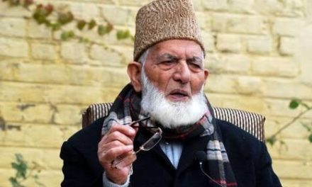 Geelani anguish over plight of detainees in various jails outside valley
