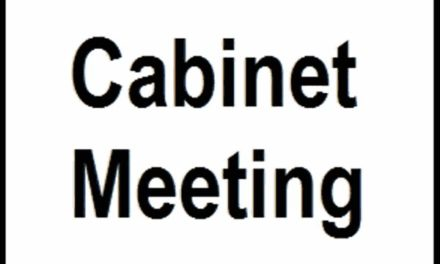 Cabinet meet on March 13