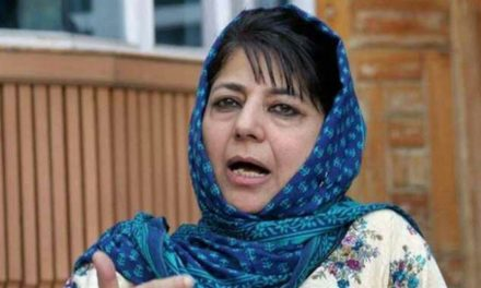 Jammu Attack: Mehbooba chairs high level security meeting