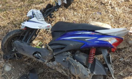 Scooty driver died in KP road accident at Anantnag