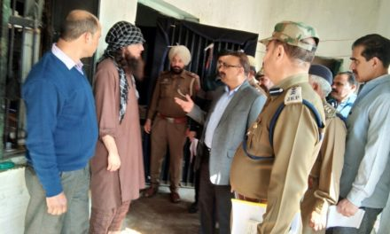 DGP Prisons visits Kot Bhalwal Central Jail