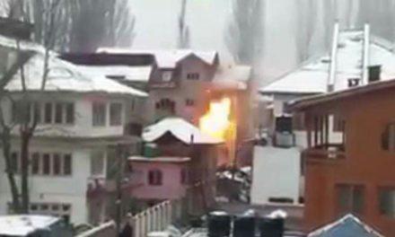 26-hour long gunfight continues in Srinagar