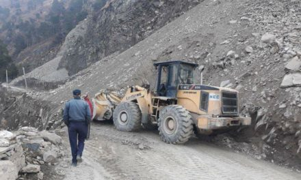 Landsliding: Srinagar-Jammu highway closed for traffic