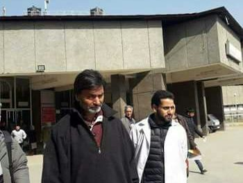 JKLF chairman Yasin Malik discharged from skims condemns killing of Soibugh resident