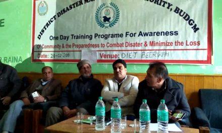 Awareness cum Training programme conduct by SDRF.