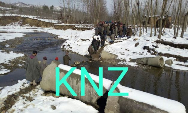 No Road Connectivity in Lankar pumbai village of kulgam,locals suffer