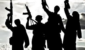 Militants offeres gun salute to five civilians killed in shopian
