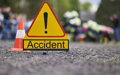 Two residents of Anantnag district in south Kashmir died in a road mishap on Srinagar-Jammu highway on Monday, police said