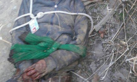 Bullet-riddled body of youth tied with ropes found in Pulwama village