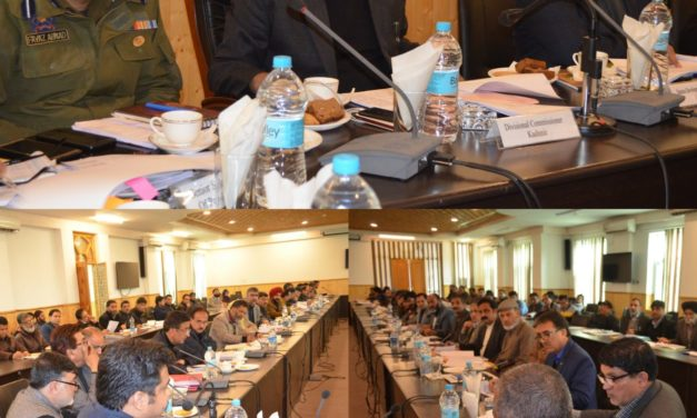 Div Com Kashmir reviews implementation of Hon'ble CM's commitments in Ganderbal