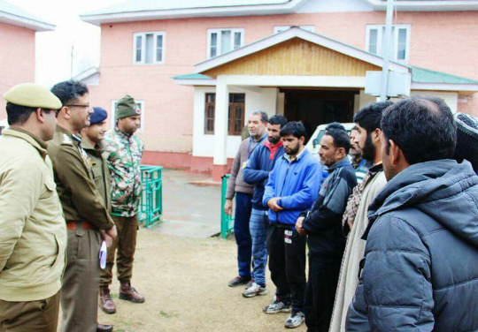 Misguided youth reconnected with their family after counselling in Anantnag
