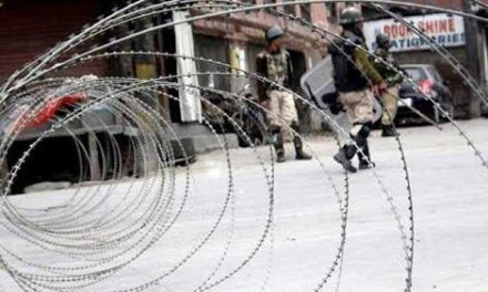 Restrictions imposed in old Barzulla area of Srinagar
