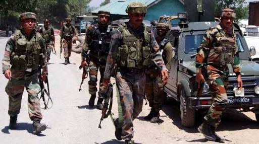 Militants give slip to forces during CASO in Hajjin