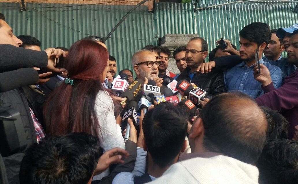 Appreciate BJP support in Asifa case: Naeem Akhtar after PDP meeting in Srinagar