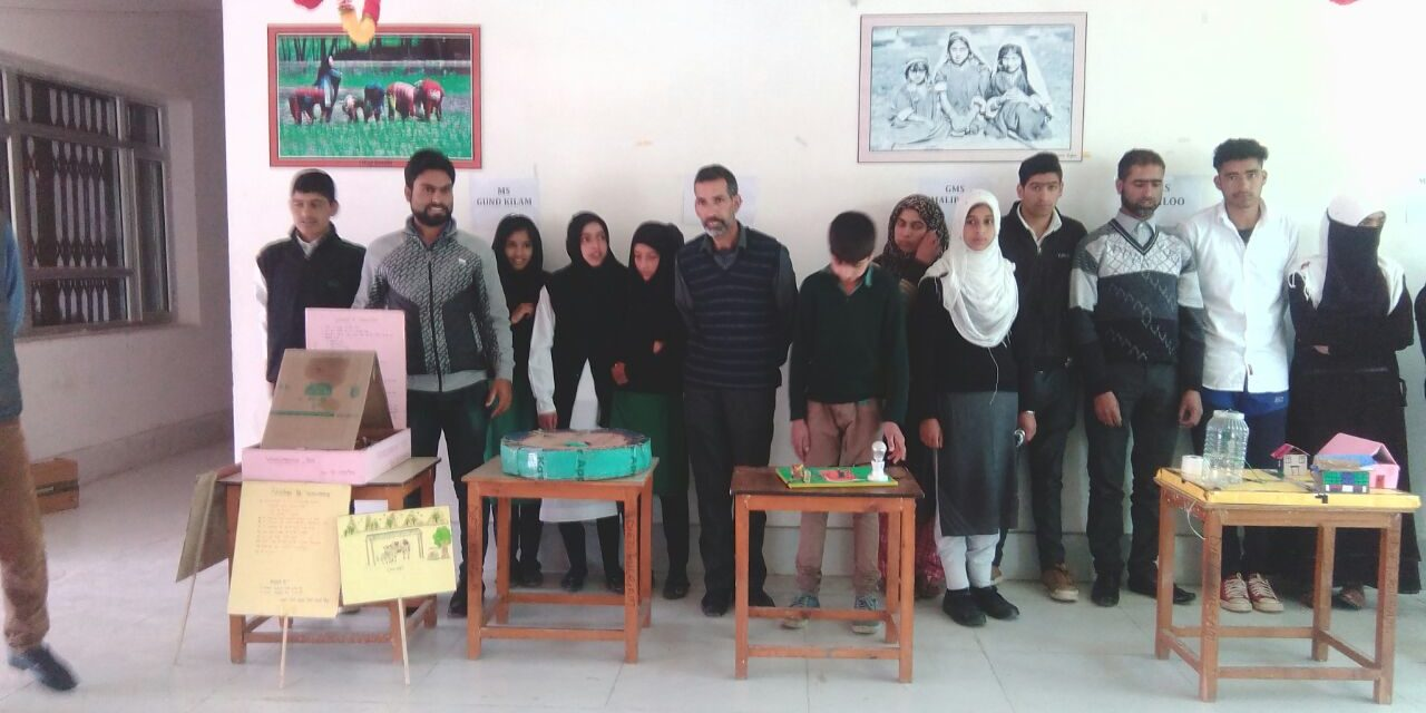 District Institute of Education and Trainings (DIET), Kulgam organised District level Exhibition program