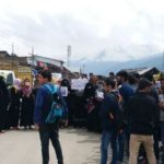 ITI Kangan Students hold Peaceful Protest rally against Brutal Rape And Murder of Asifa