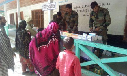 INDIAN ARMY ORGANISED MEDCIAL CAMP AT MAMAR KANGAN