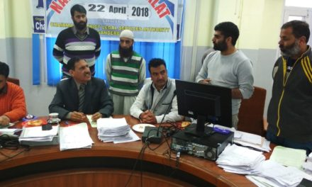 National LokAdalatheld at District Court Ganderbal & Minsiff Court Kangan, 607 cases were taken up in which 381 cases disposed off