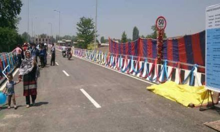 CM Mehbooba throws open phase-I of Jahangir Chowk-Rambagh flyover