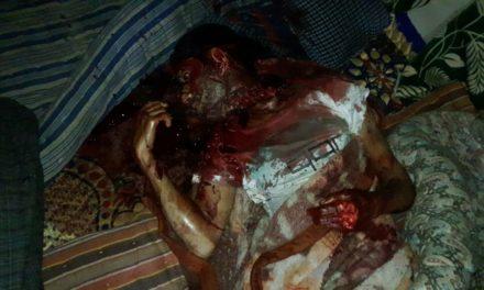 Another throat slit body of man found in Hajin