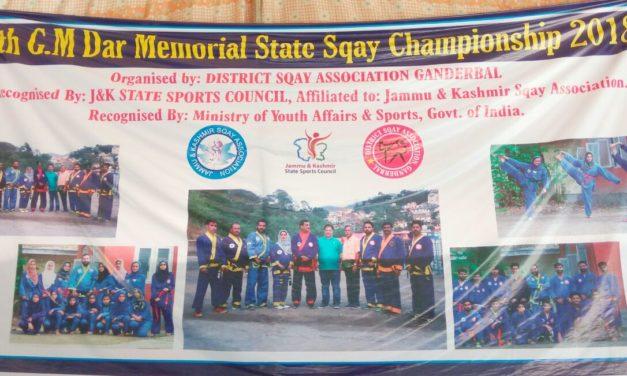 J&K State Sqay Championship starts in Ganderbal