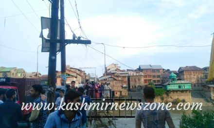 Girl jumps into Jhelum to commits suicide in Srinagar, rescued