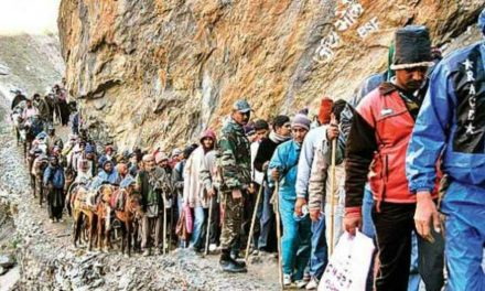 3,499 pilgrims leave for Amarnath