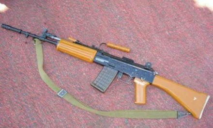 Militants snatched service rifle(bore 12) of a bank security guard at Brakpora Anantnag