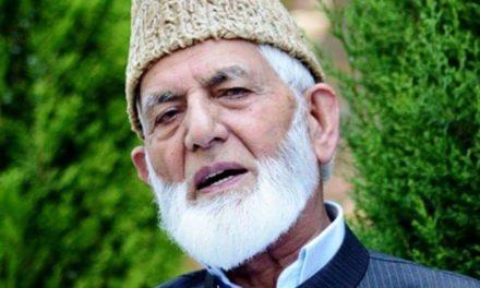 Kashmir prisoners facing inhuman, ill treatment: Geelani