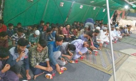 Iftaar Party organised by Indian Army at Gutlibagh