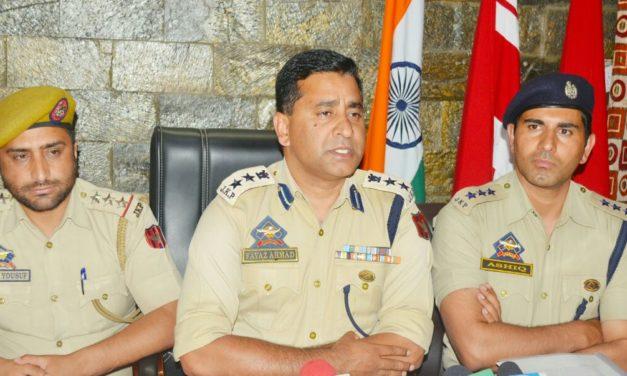 Ganderbal Police solve mysterious blast case three arrested