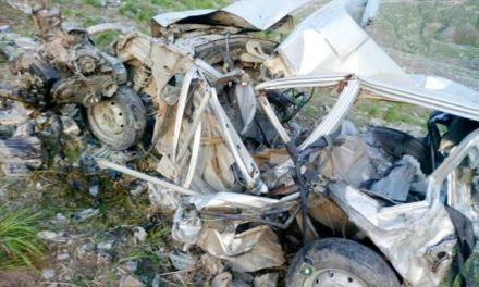Four persons killed after car fell into a deep gorge at Zojila