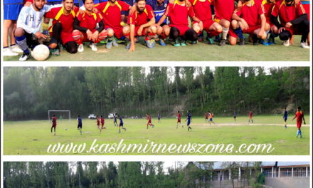 Meeran Sports Football Tournament 2018, Batwina Ganderbal.