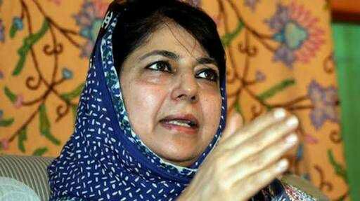 Mehbooba hails two BJP MLAs' for support to defend article 35-A