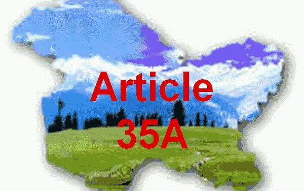 Flash : Supreme Court deferred hearing on Article 35-A for two weeks.