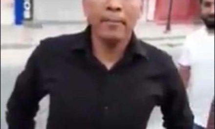 Basant Rath slaps man in Srinagar, video creates buzz on social media