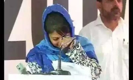 Mehbooba Mufti Asks Modi to respond to Imran Khan's offer of friendship.