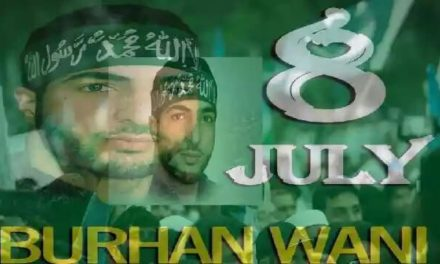 Burhan Wani's 2nd Anniversary To Be Observed Across Kashmir And Pakistan: UJC