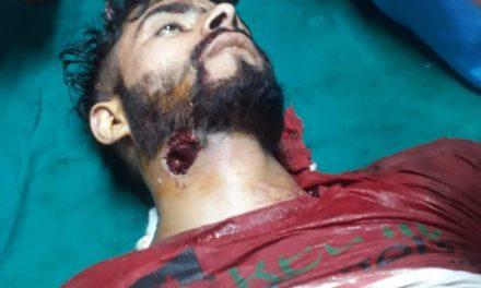 One civilian namely Khalid Gaffar killed during clashes at Trehgam in Kupwara
