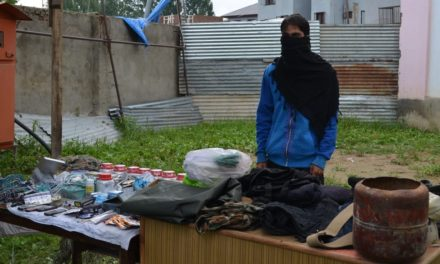 Two hideouts busted in Pulwama says police
